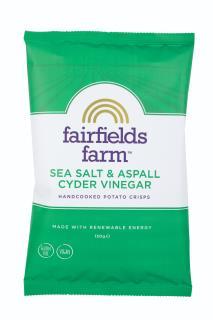 Fairfields Farm Crisps Sea Salt & Aspall Cyder Vinegar