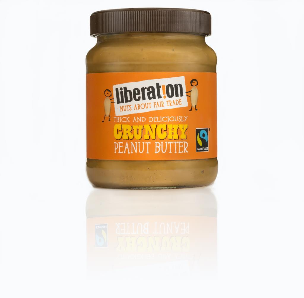 Liberation Peanut Butter Crunchy (with orange lid)