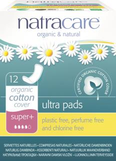 Natracare Ultra Super Plus Pads