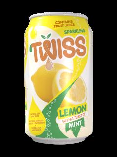Twiss Sparkling Lemon with a twist of Mint Juice Drink