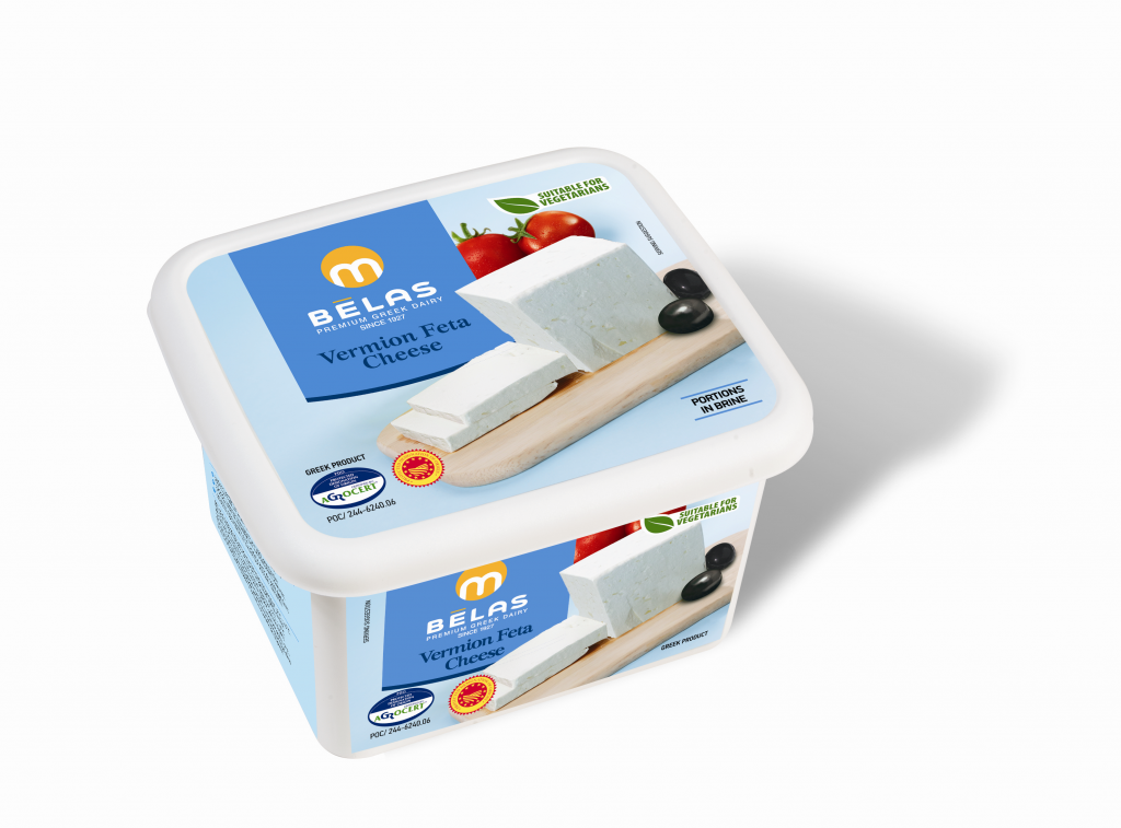 Vermion Feta Cheese P.D.O Product