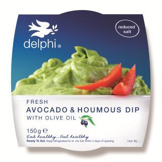 Avocado & houmous dip