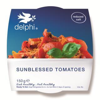 Sun rippened tomato salad