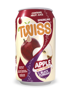 Twiss Sparkling Apple with a twist of Blackcurrant Juice Drink