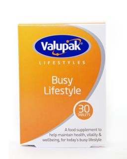 Valupak Busy Lifestyle Tablets