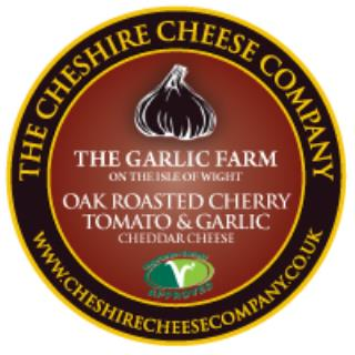 Tomato and Garlic Cheddar