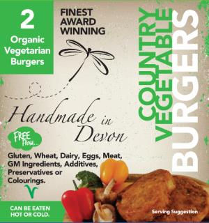 Organic Country Vegetable Burger