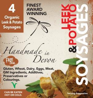 Organic Leek & Potato Soysages