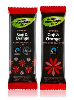 Chocolate Bar – Goji Berry & Orange
