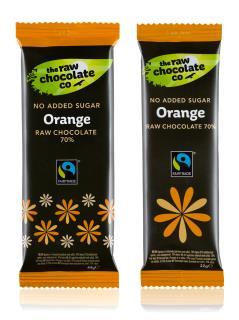 Chocolate Bar – Orange with Xylitol