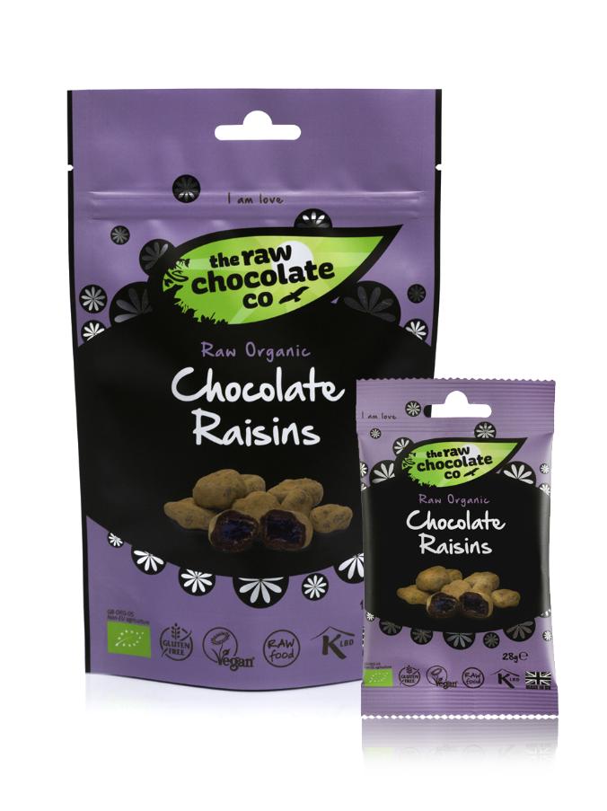 Raw Chocolate Raisins