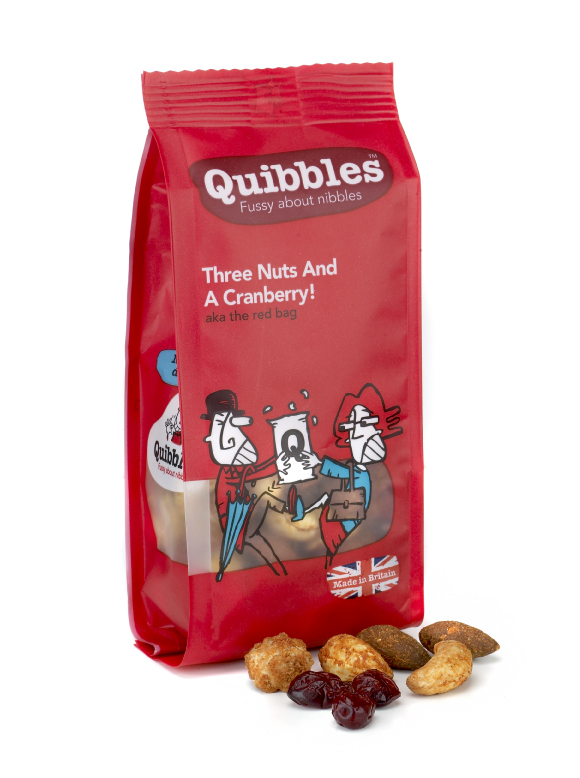 Quibbles, Three Nuts & A Cranberry