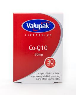 Valupak Co-Q 10 30mg Tablets