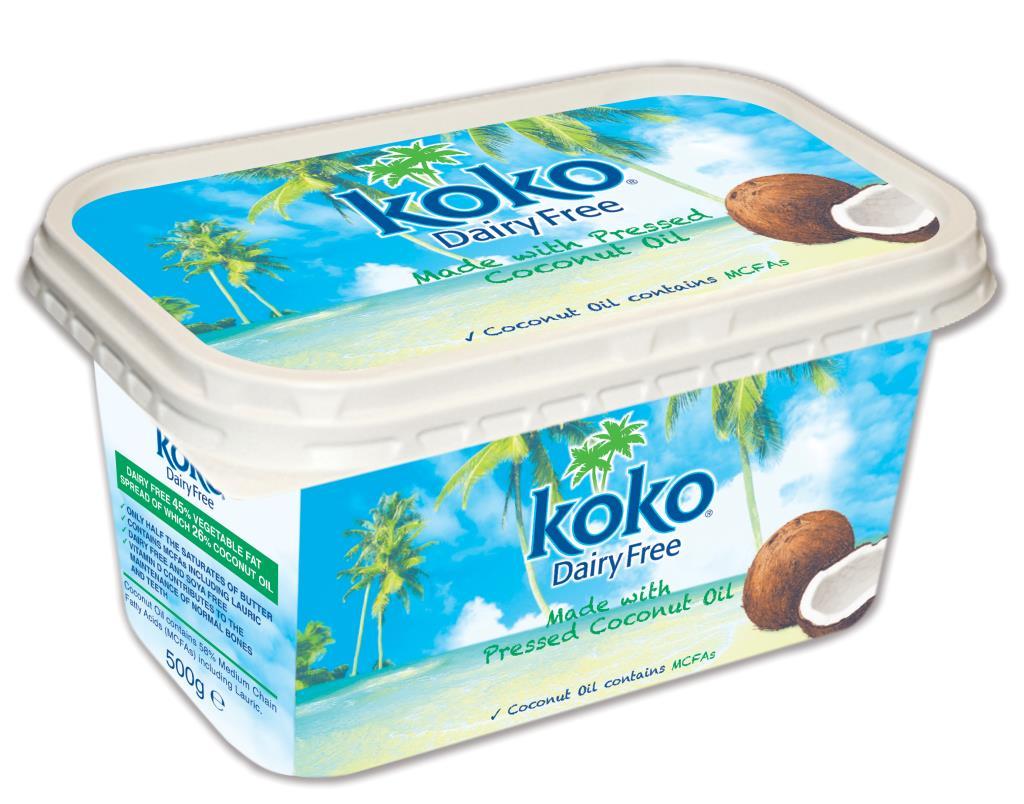 Koko Dairy Free Spread 500g