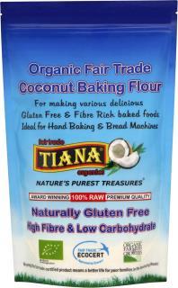 TIANA Fairtrade Organics Gluten Free Coconut Baking Flour