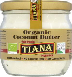 TIANA Fairtrade Organics Pure  Coconut Cooking Butter