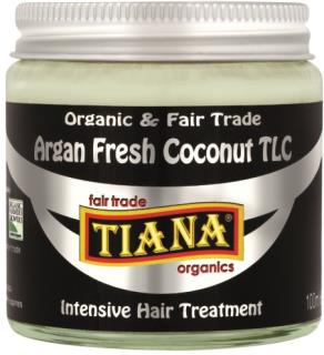 TIANA Fairtrade Organics Argan Fresh Coconut TLC Intensive Hair Treatment