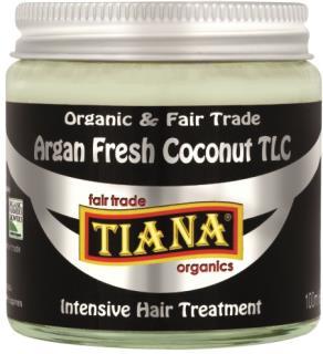TIANA Fairtrade Organics Argan Fresh Coconut TLC Intensive Hair Treatment