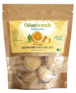 Biskotakia – Gluten / Dairy Free Biscuits, Orange