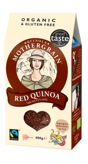 Quinola Mothergrain Quinoa Grain: Red