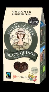 Quinola Mothergrain Express Quinoa: Pearl & Black