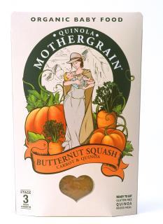 Quinola Mothergrain Baby Meal: Butternut Squash, Carrot & Quinoa (Stage 3/ 10months+)
