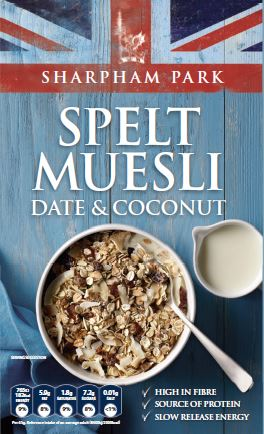 Date & Coconut Muesli