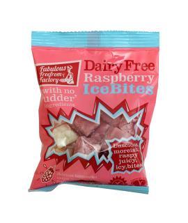 Dairy Free Raspberry Ice Bites