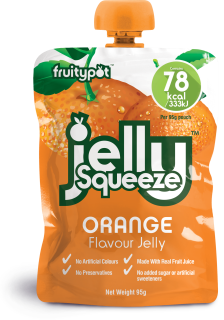 JellySqueeze Orange Flavour Jelly 16x95g