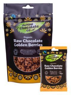 Organic Raw Chocolate Golden Berries