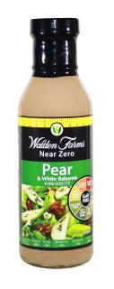 Walden Farms Pear & White balsamic salad dressing