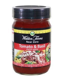 Walden Farms Tomato & basil pasta sauce