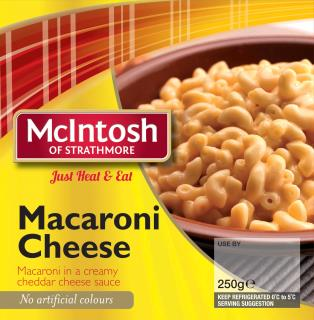 Scottish Favourites – Macaroni cheese (flashed)