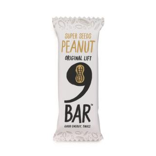 NINE – Peanut Seed Bar 40g