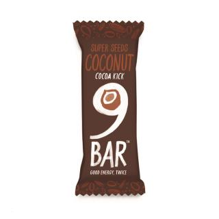 NINE Cocoa Coconut Seed Bar 40g