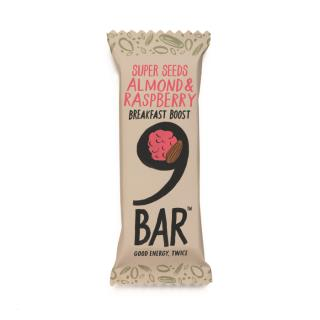 NINE Breakfast – Berry & Almond Seed Bar 50g