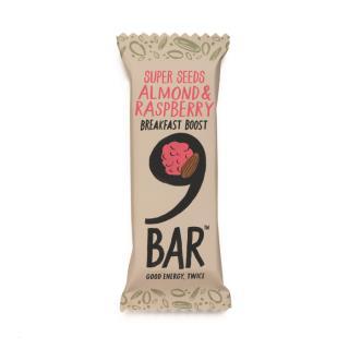 NINE Breakfast – Berry & Almond Seed Bar 50g