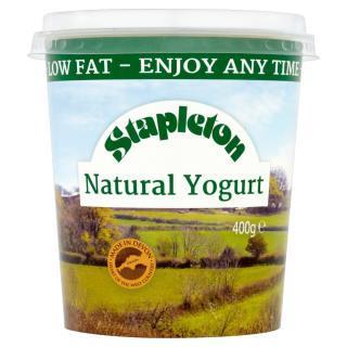 Stapleton Low Fat Natural Yogurt