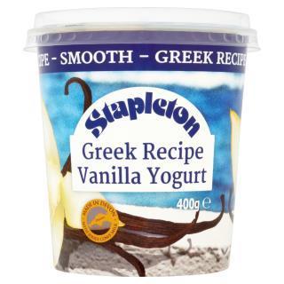 Stapleton Greek Recipe Vanilla Yogurt