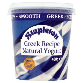 Stapleton Greek Recipe Natural Yogurt