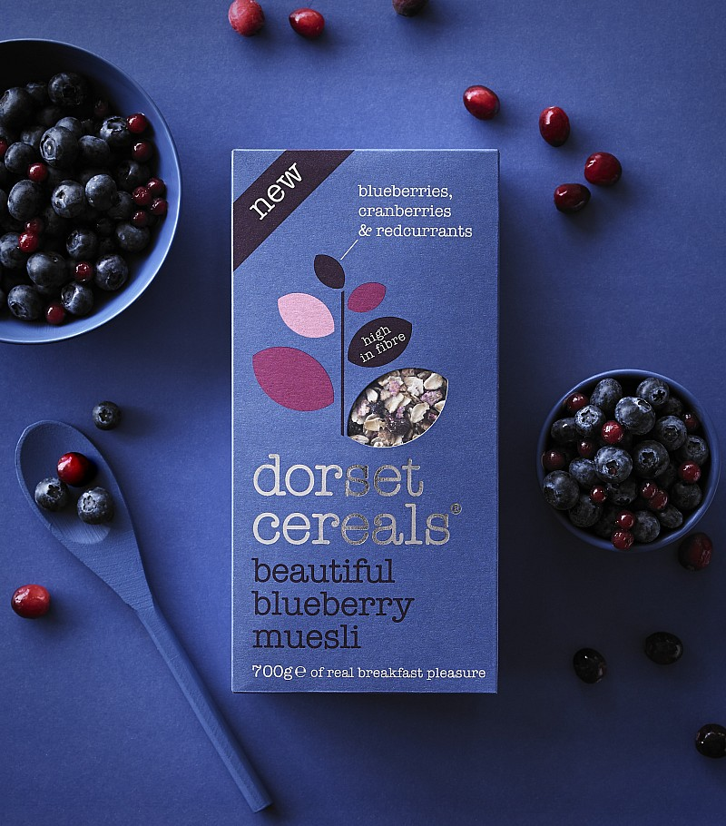 Beautiful Blueberry Muesli