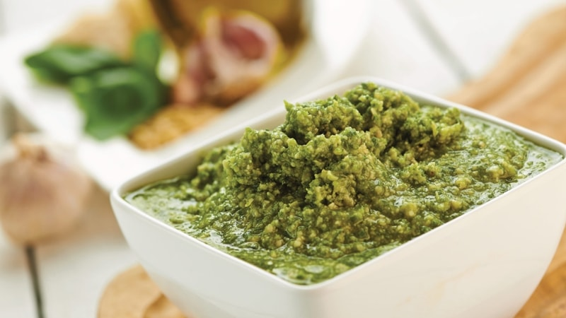 Green Pesto Vegetarian