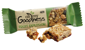 Oh My Goodness Fruit Explosion Snack Bar