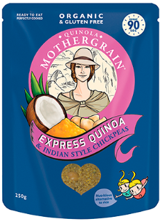 Quinola Mothergrain Express Indian Chickpeas