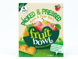 Fruit Bowl Picked & Pressed Apple & Pear Bars