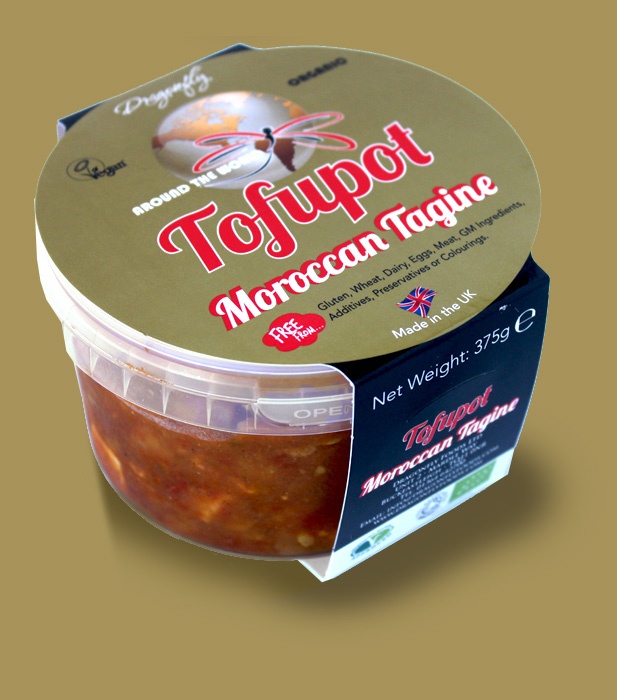 Moroccan Tagine with Pasteurized Dragonfly Tofu