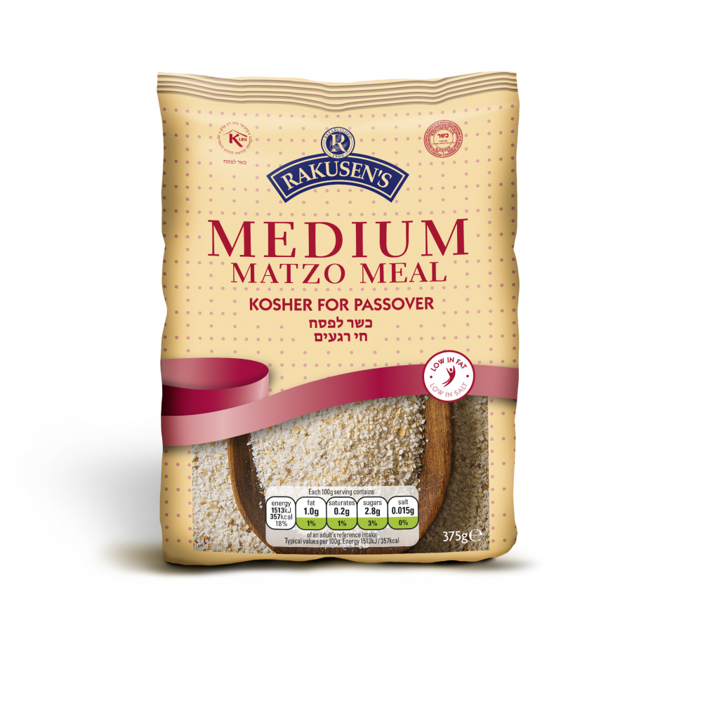 Rakusen's Passover Medium Matzo Meal 375g