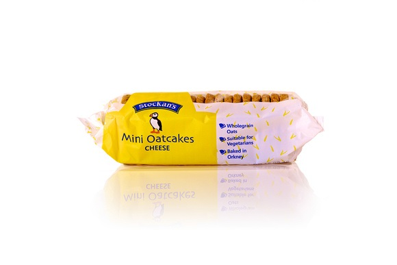Stockan's Orkney Mini Oatcakes Cheese