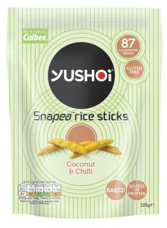 Yushoi Snacks – Mild Green Curry