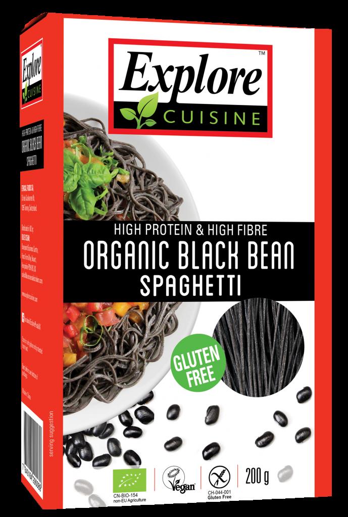 Black Bean Spaghetti